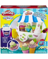 Modellervoks Play-doh ice cream cone container